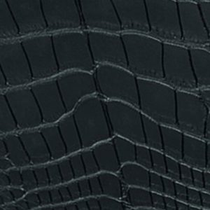 Callihours alligator mat noir intense