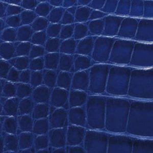 Alligator bleu verbreuil mat