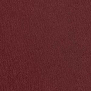 Veau grainé et alligator bordeaux rubis