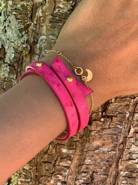 bracelet roch autruche photos portees
